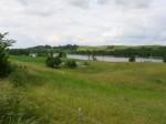 Widok na Buwełno z drogi dojazdowej
