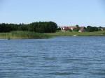 Na jeziorze Buwełno