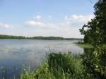 Nad jeziorem Buwełno