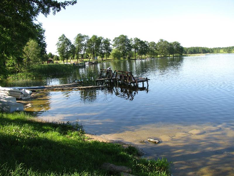 Jezioro i nasz pomost