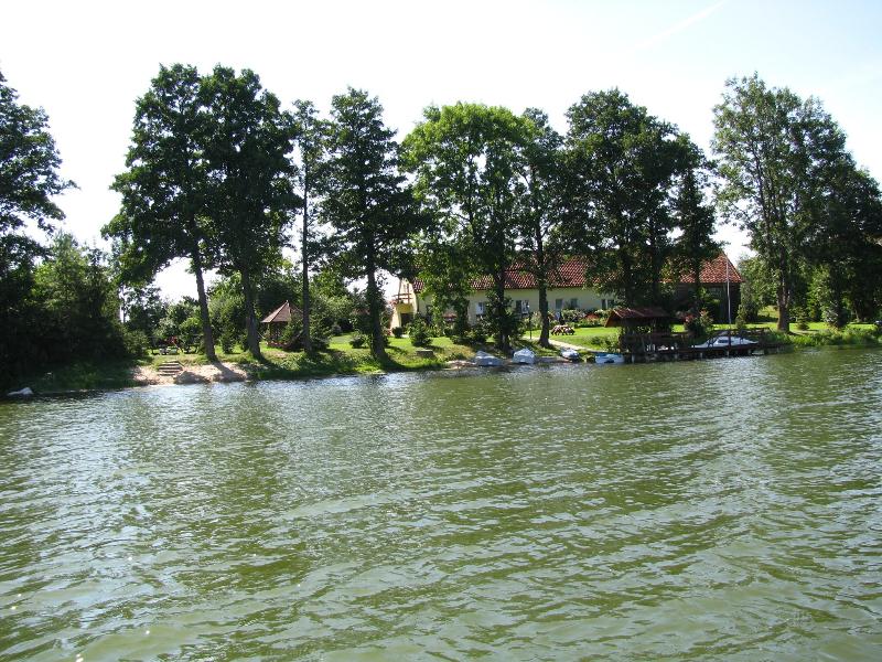Widok z jeziora