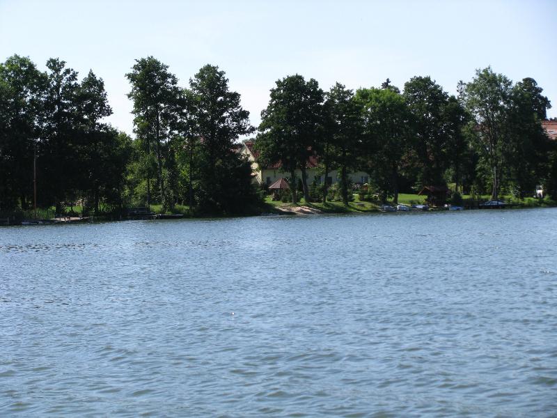Jezioro i plaża