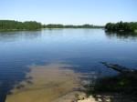 Plaża jezioro Buwełno
